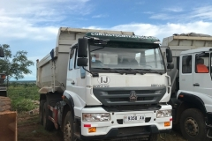 SWZ10 Tipper Trucks with 25 Tonne Capacity