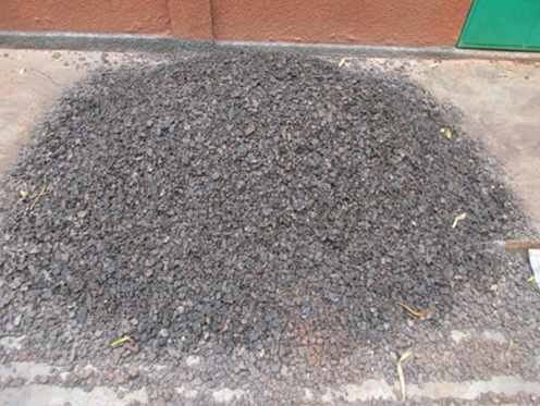 Saprolite -25+8mm manganese ore washed